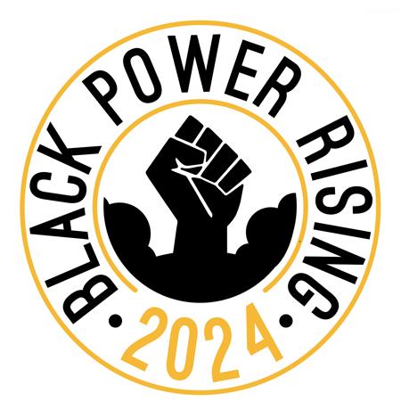 Black Power Rising 2024 logo