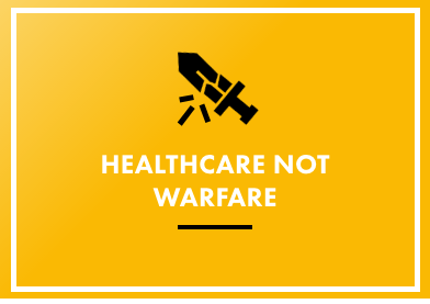image link to Healthcare not Welfare page