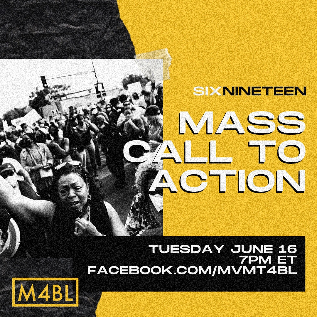 Mass call to action six nineteen event image