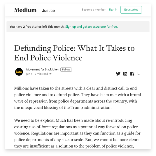 Defunding Police: What It Takes To End Police Violence