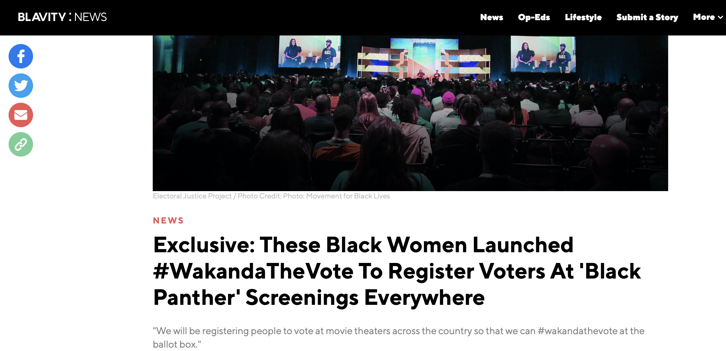 Exclusive: These Black Women Launched #WakandaTheVote To Register Voters At 'Black Panther' Screenings Everywhere