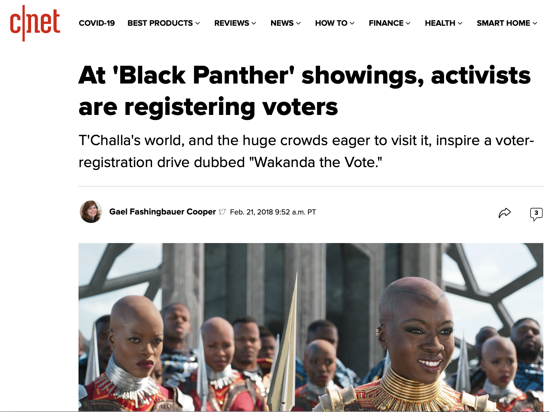 At 'Black Panther' showings, activists are registering voters