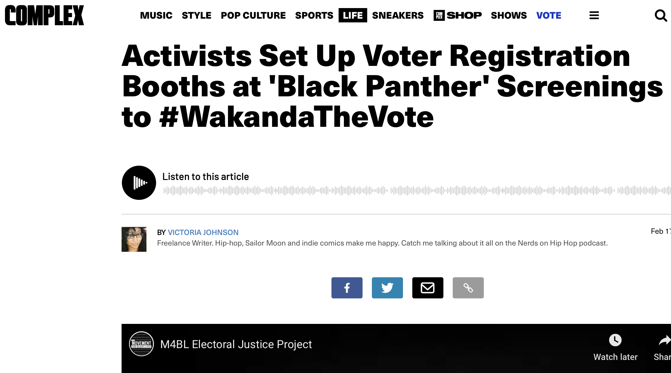 Activists Set Up Voter Registration Booths at 'Black Panther' Screenings to #WakandaTheVote