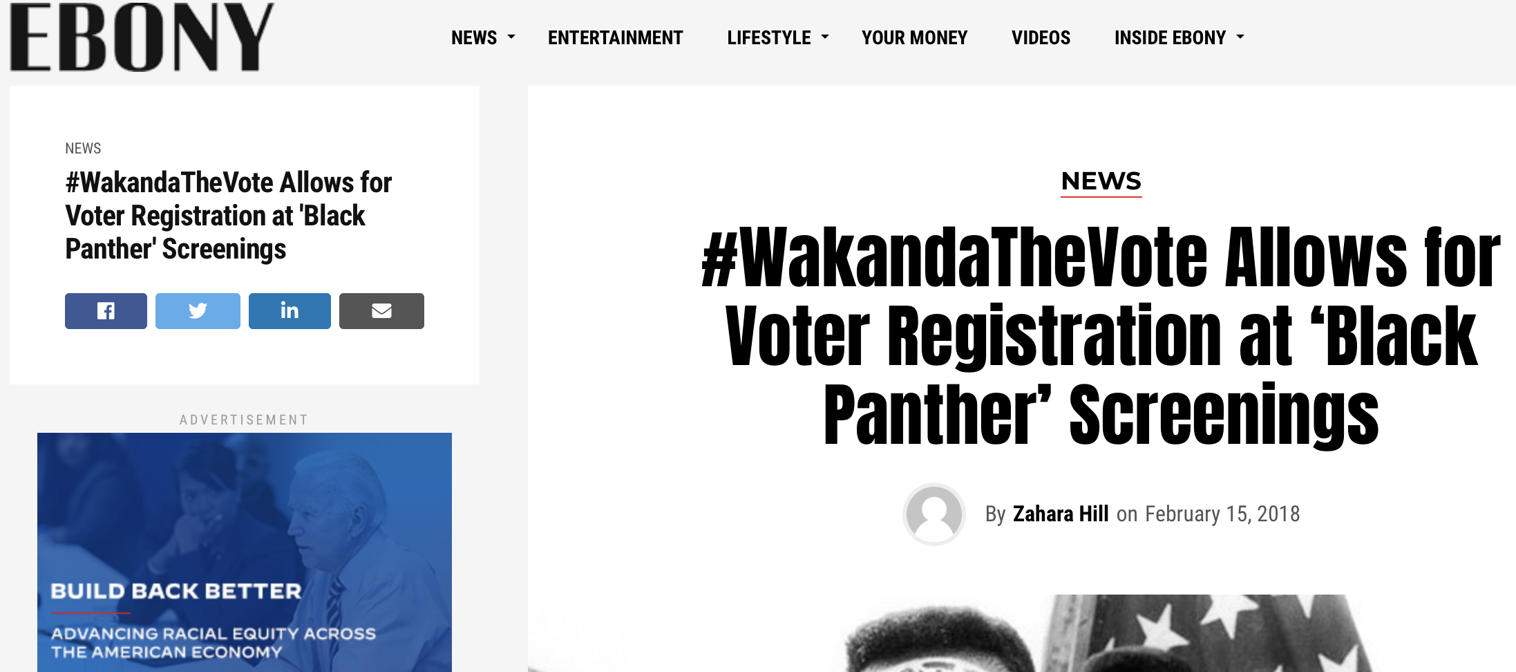 #WakandaTheVote Allows for Voter Registration at 'Black Panther' Screenings