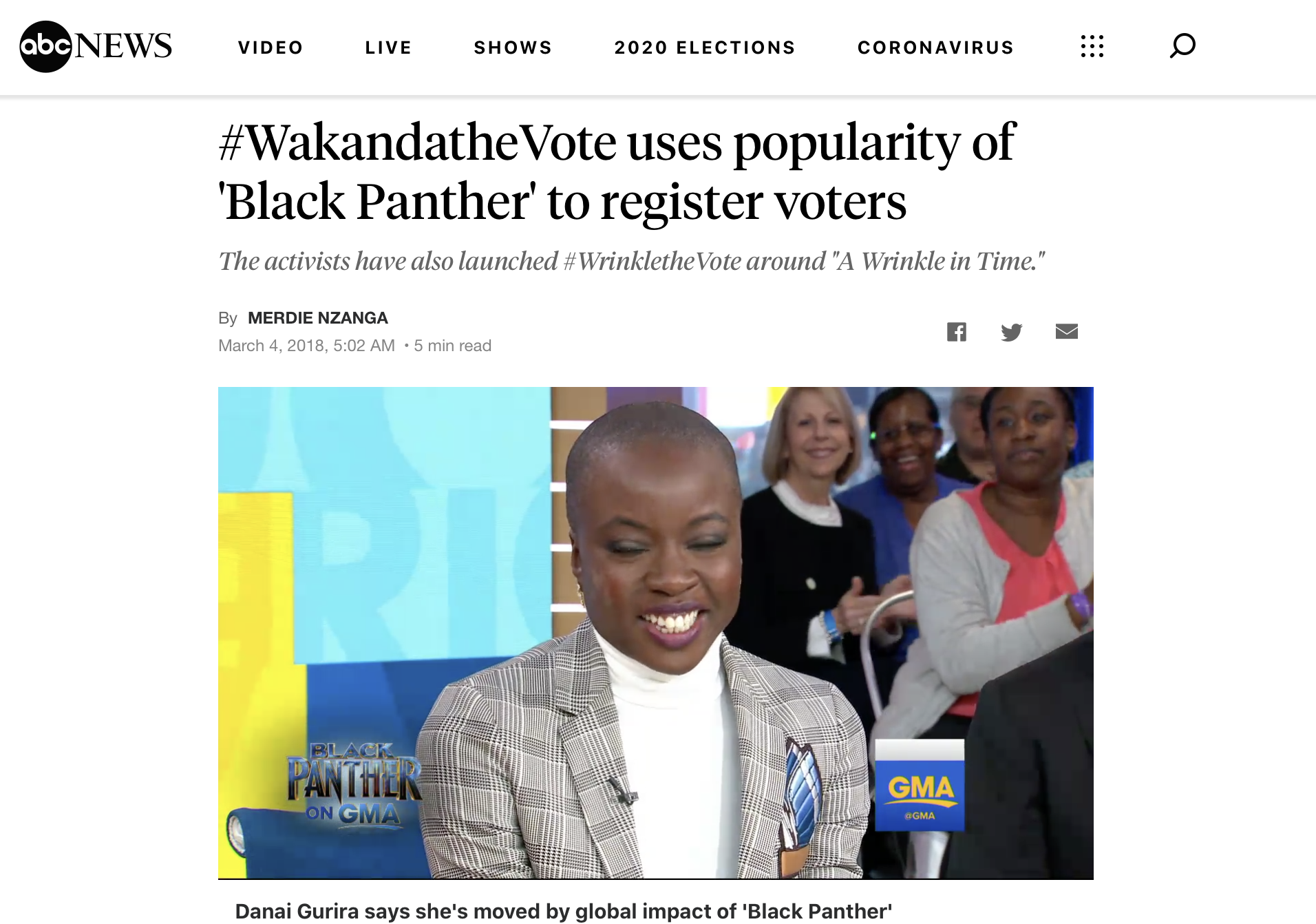 #WakandatheVote uses popularity of 'Black Panther' to register voters