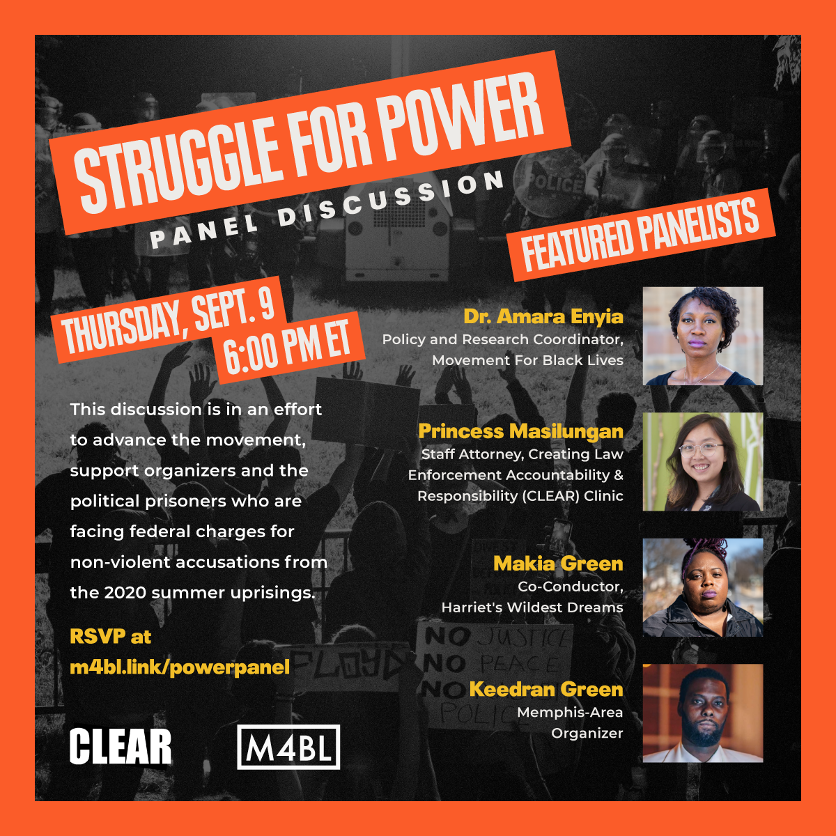 Struggle for Power Panel Discussion